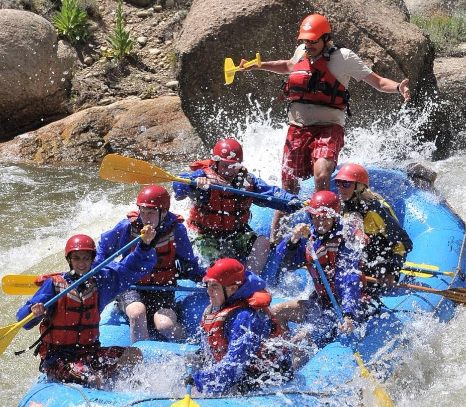Whitewater rafting is fun, but it's also hard work and your work up a sweat despite the cool river water. Don't forget to hydrate your body frequently on your next river rafting adventure