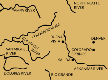 Colorado rivers map