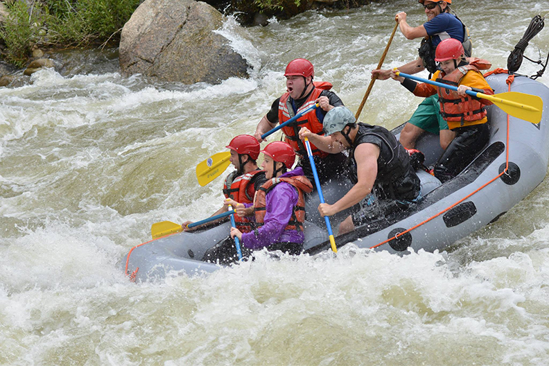 2014 exciting season for rafting