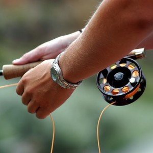 Choose between fly and spin fishing with Dvorak Expeditions