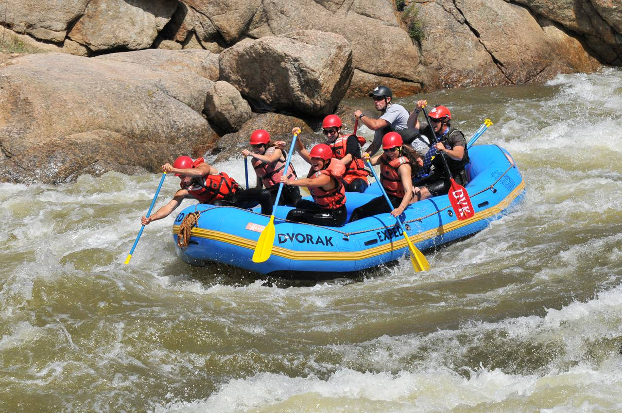 The Arkansas River Browns Canyon National Monument is one of the most sought after white water rafting destinations