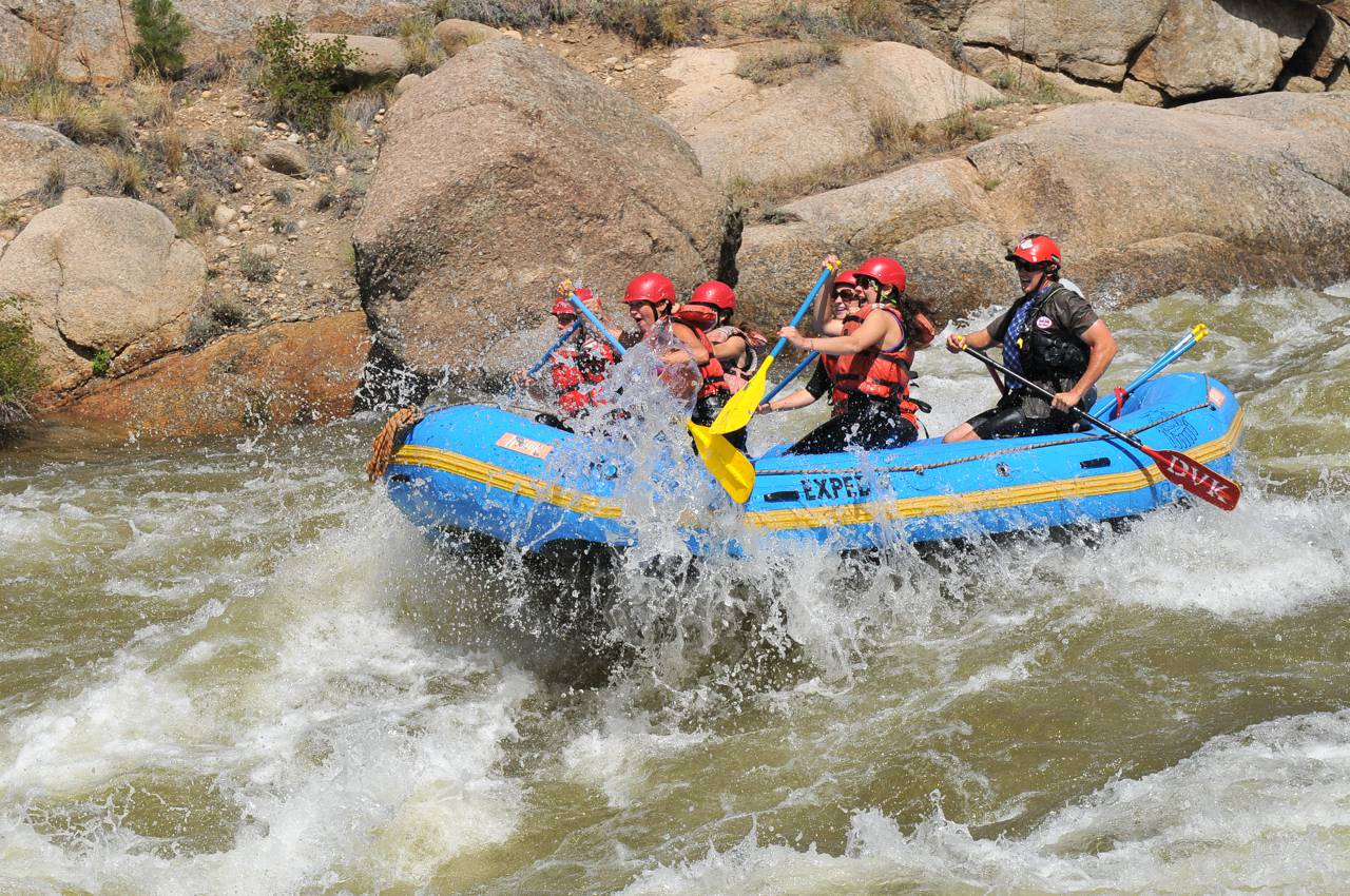 Dear Mr. President. Our rafts can take you and 4 of your favourite body guards on a thrilling rafting trip through Browns Canyon National Monument.