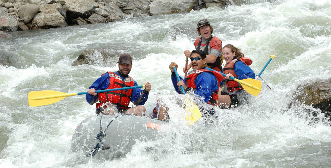 Rafting Browns Canyon on the Arkansas River, CO, is fun for the whole family.