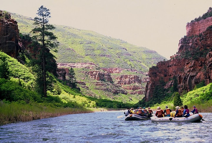 The Dolores River has intense white water rafting and miles of untouched wilderness to bring out your inner pioneer.