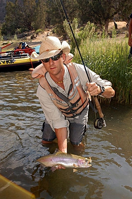 DVK has Gold Medal walk, wade or float fishing trips at some of the most exclusive fisheries in Colorado.