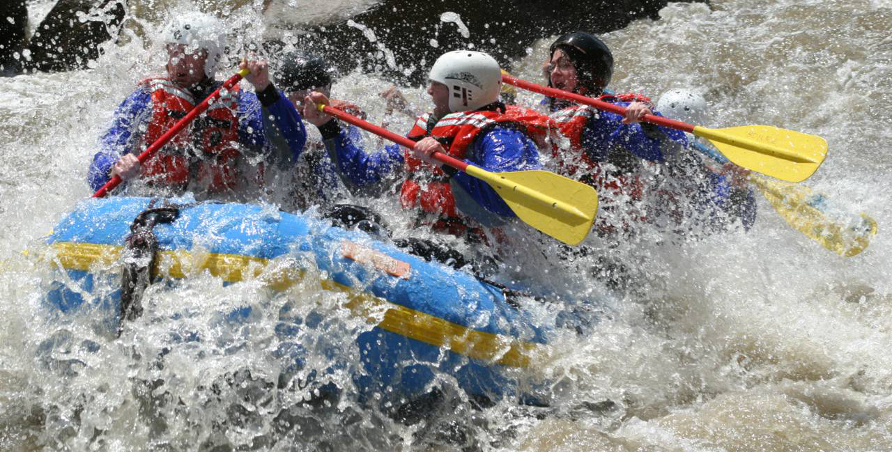 Group retreats and corporate event on the Colorado rivers