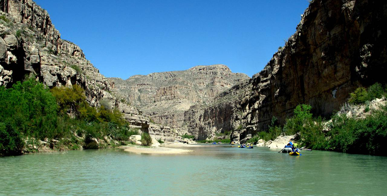 White water rafting on the Rio Grande is a great way to celebrate America's independence.