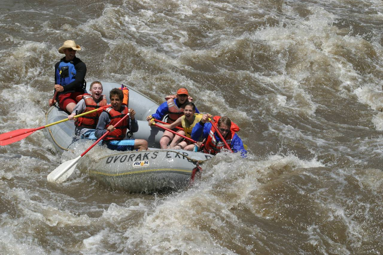 The best whitewater rafting and kayaking adventures in Colorado