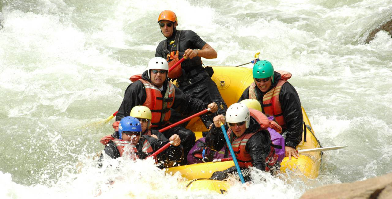 Spend a day on the Arkansas or Colorado river with your dad this Father's Day.
