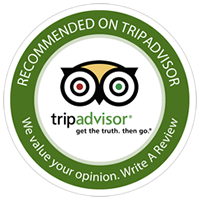 Recomended on Trip Advisor