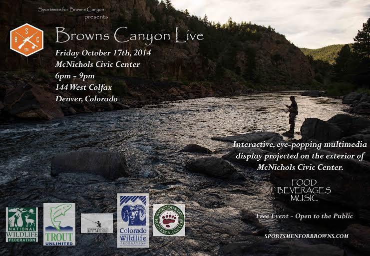 Browns Canyon Live