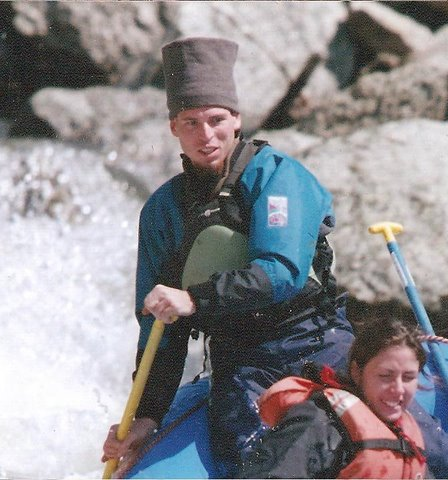 A stylish, warm, fast drying hat to keep your noggin warm is another great fashion choice for river rafting in Colorado in the fall.