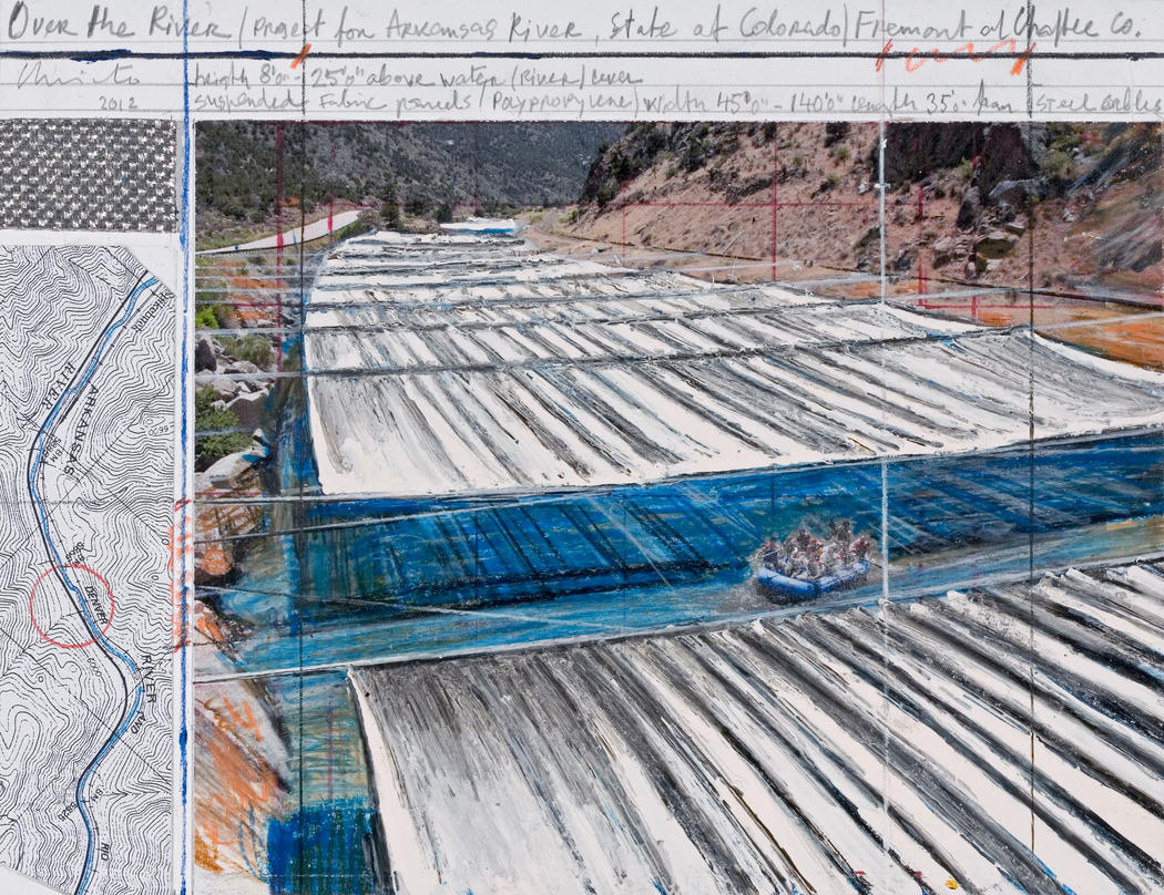 Coming 2017 Christo's Over the River Project