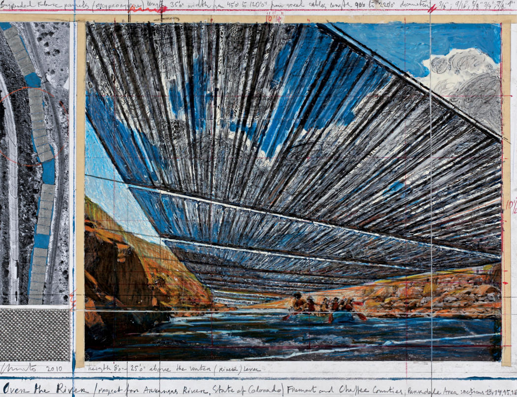 Christo's Over the River art Coming 2017
