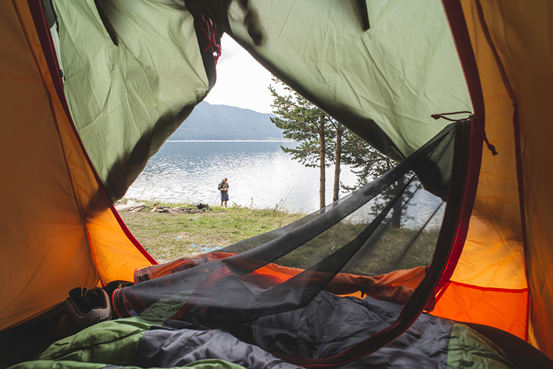 How to pack for a fall camping trip in Colorado