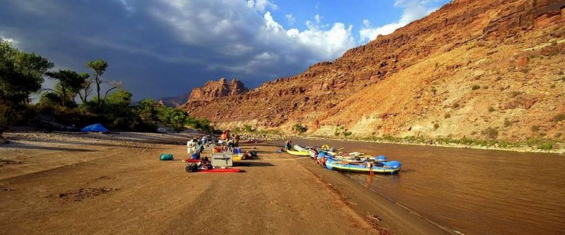 Green River, Utah, yoga and rafting trip September 2016