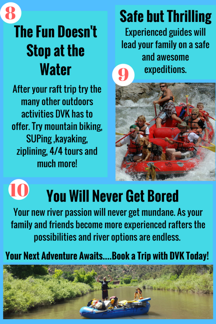 10 reasons to take your family rafting.