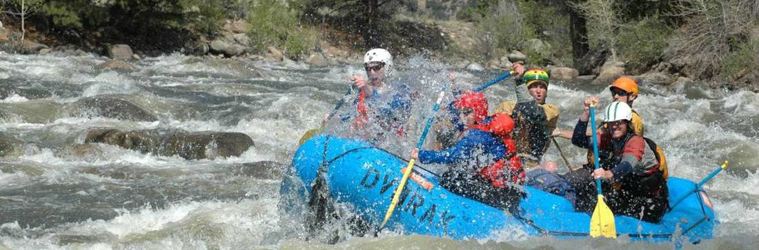 White Water Courses in Colorado