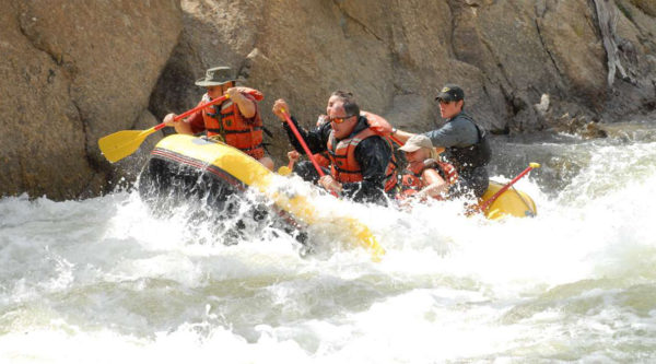 arkansas river rafting with dvorak expeditions