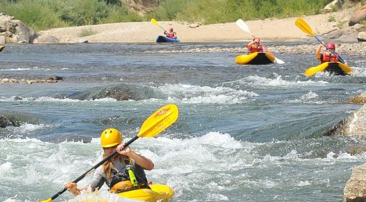 kayaking on the arkansas river with dvorak expeditions