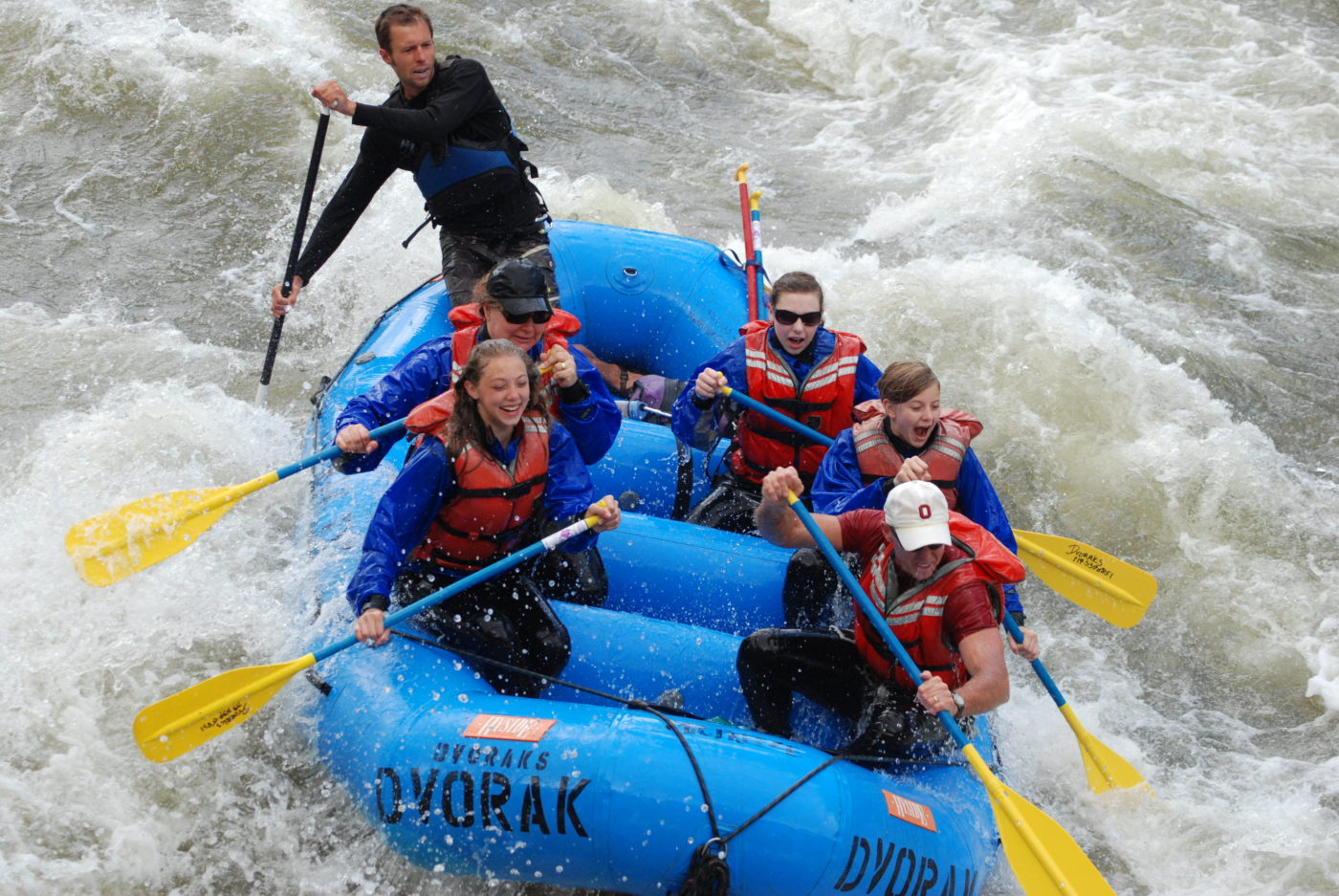 rafting big horn sheep canyon with dvorak expeditions
