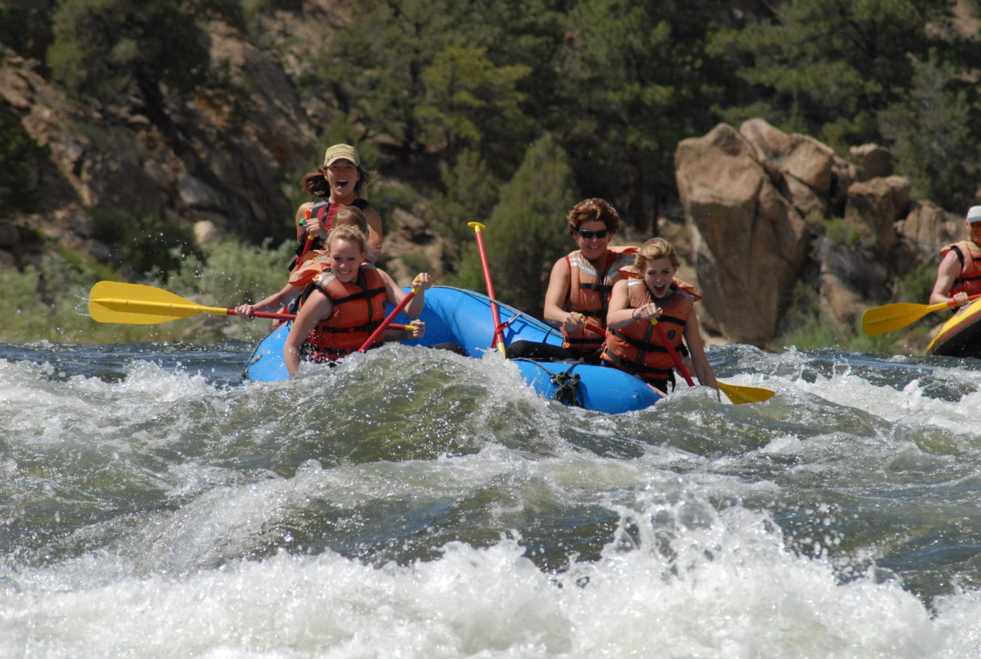 browns canyon whitewater rafting with dvorak expeditions