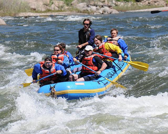 teenage whitewater skills camp with dvorak expeditions