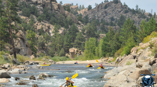 dvorak expeditions inflatable kayaks on the arkansas river